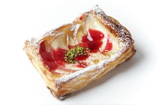 フレッシュりんごの薄焼きパイ